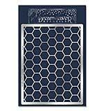 Dreamweaver Stencil - Honeycomb Chicken Wire