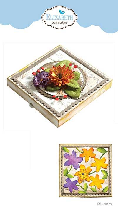 Elizabeth Craft Metal Die - Pizza Box