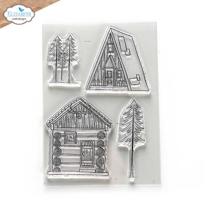 SO: ECD Into the Woods - Cabin Love (Stamp Set)