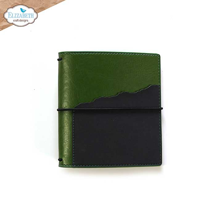 SO: ECD Into the Woods - Moss - Square  (Travelers Notebook)