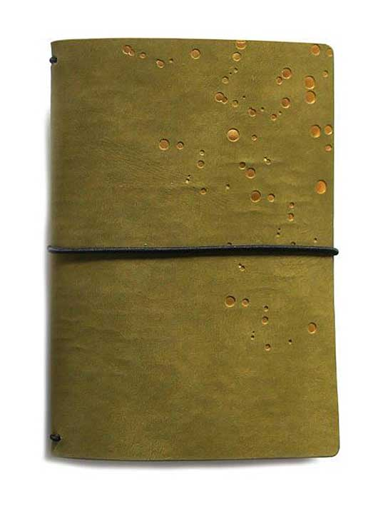 Elizabeth Craft Travelers Notebook - Olive