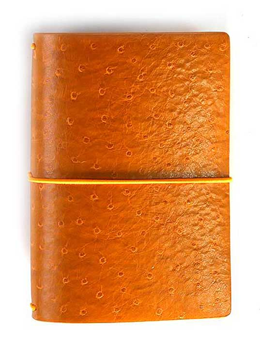 Elizabeth Craft Travelers Notebook - Ochre