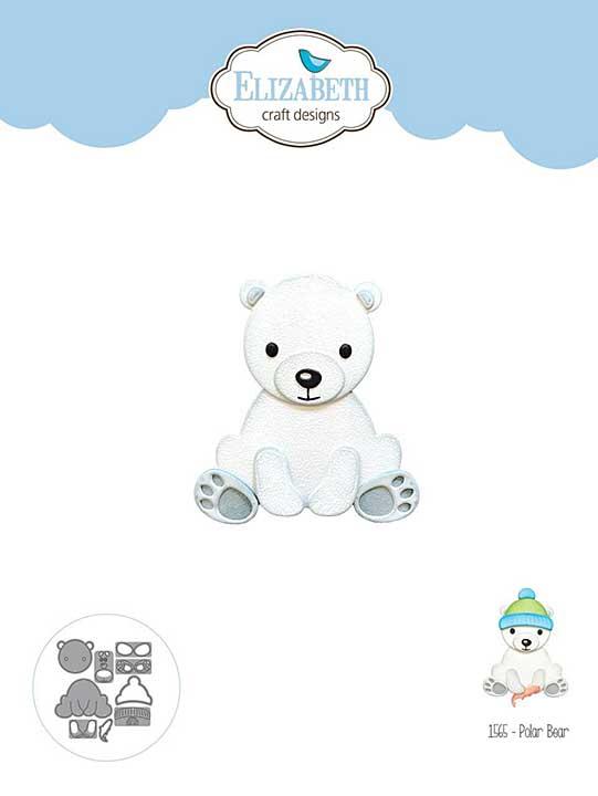 SO: Elizabeth Craft Designs - Polar Bear Cutting Die Set