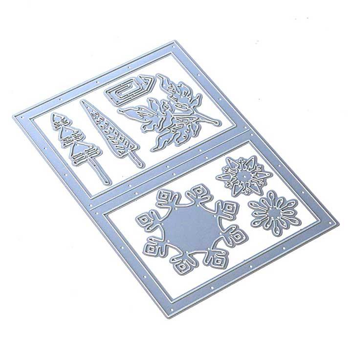 Elizabeth Craft Designs - Snowy Windows Die