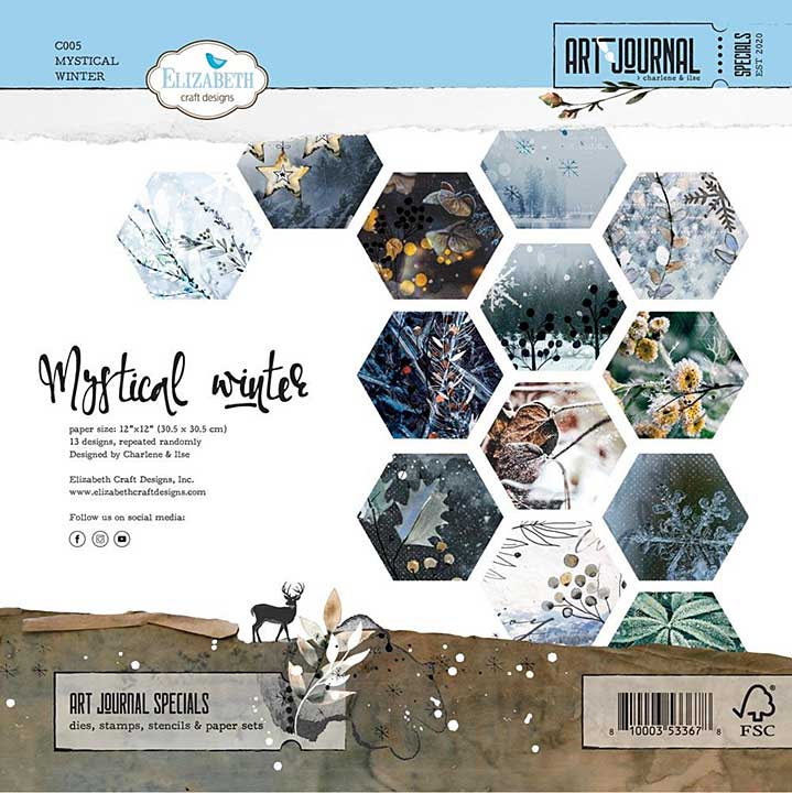 ECD Mystical Winter 12x12 Paper Pad