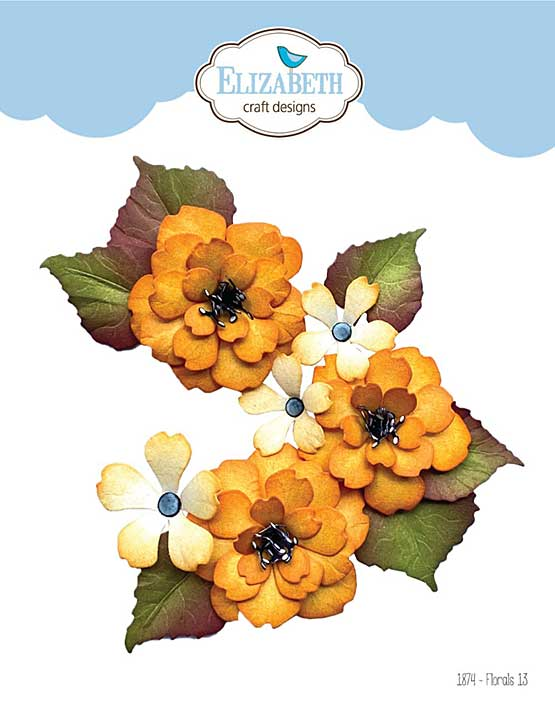Elizabeth Craft Designs - Florals #13