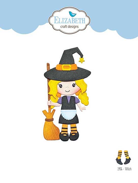 Elizabeth Craft Designs - Witch (Harvest)