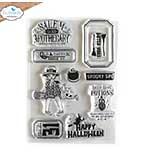 Elizabeth Craft Designs - Halloween Vibes Stamp Set (Harvest)