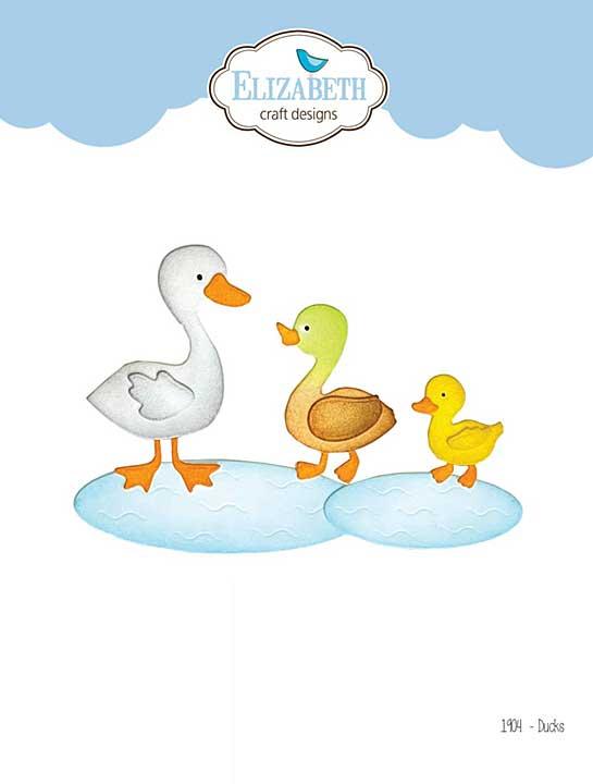 Elizabeth Craft Designs - Ducks (Harvest)
