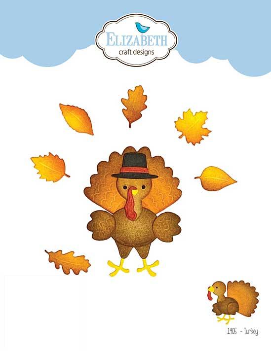 Elizabeth Craft Designs - Turkey (Harvest)