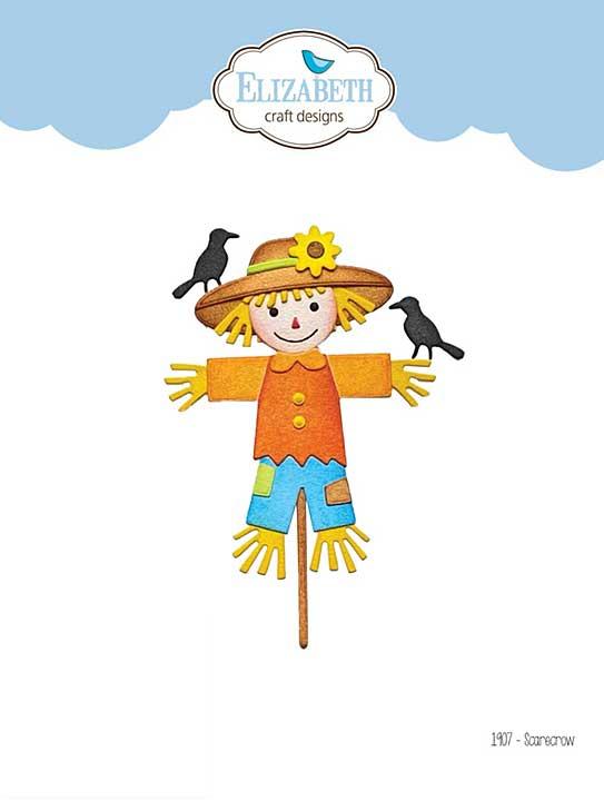 Elizabeth Craft Designs - Scarecrow (Harvest)