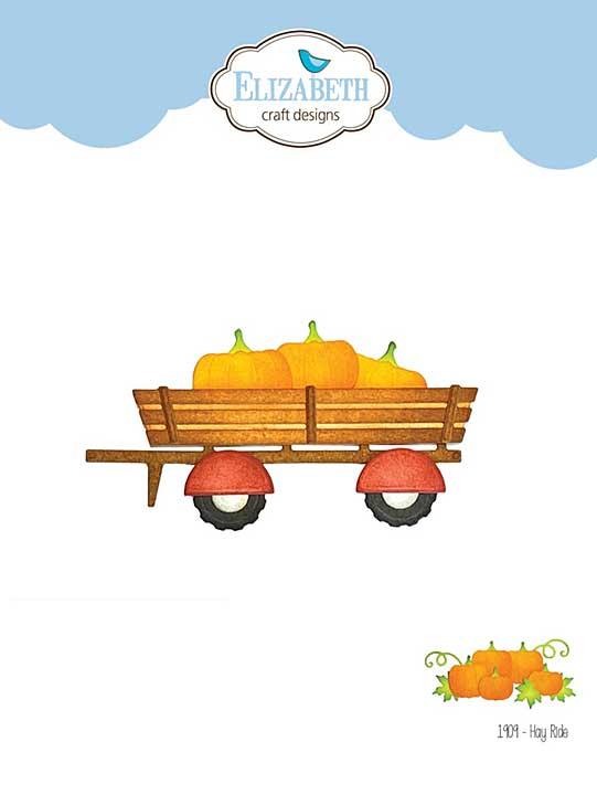 SO: Elizabeth Craft Designs - Hay Ride (Harvest)