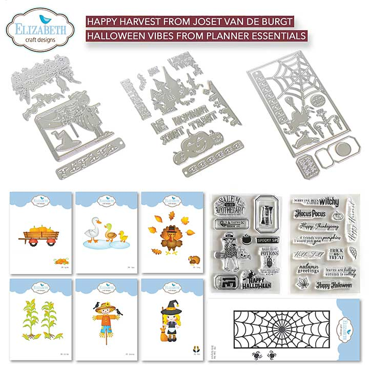 Elizabeth Craft Designs - Halloween and Harvest Complete Collection (Harvest)