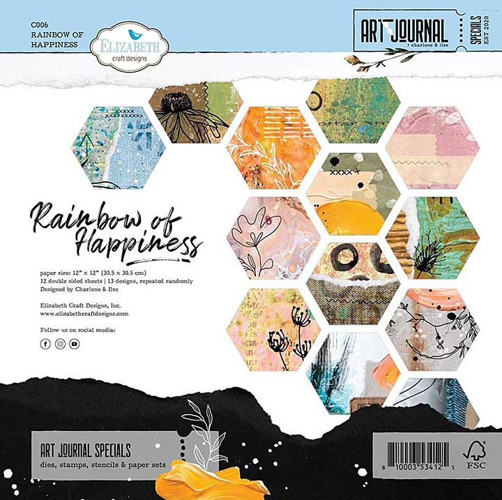 SO: ECD Rainbow of Happiness 12x12 Paper Pad