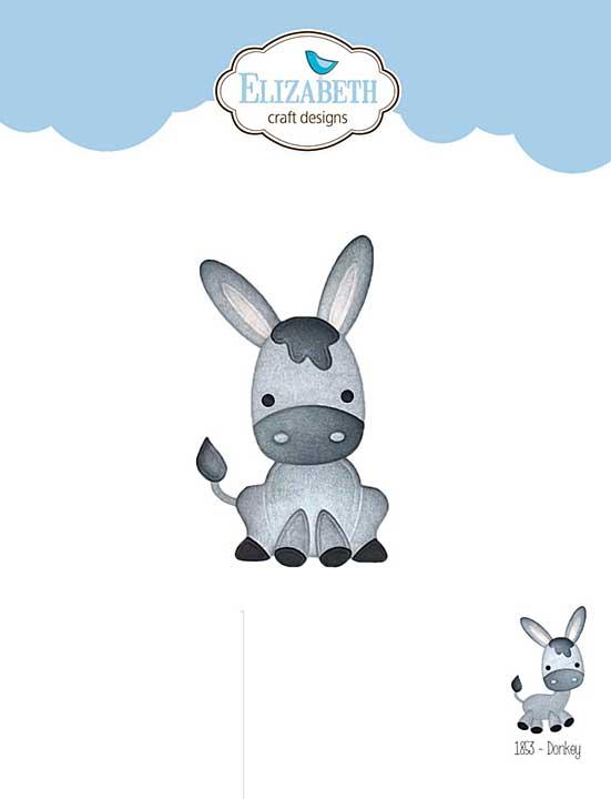 Elizabeth Craft Designs - Donkey (on the Farm)