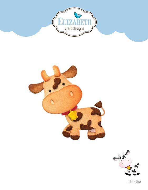 Elizabeth Craft Designs - Cow (on the Farm)