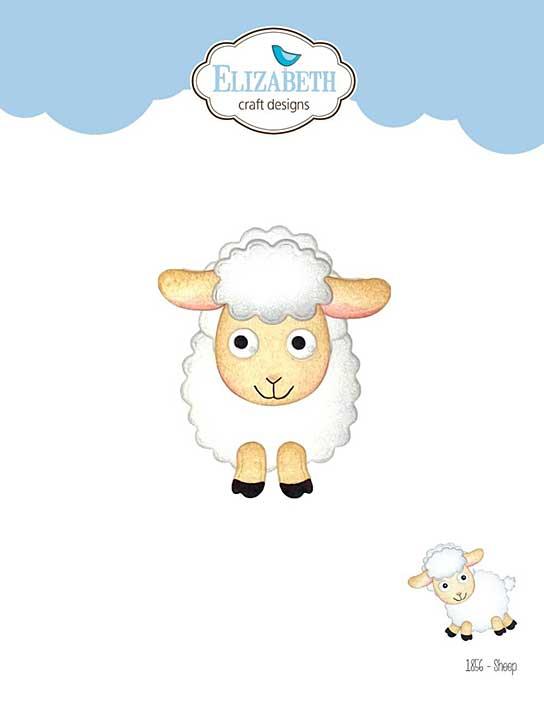 Elizabeth Craft Designs - Sheep (on the Farm)
