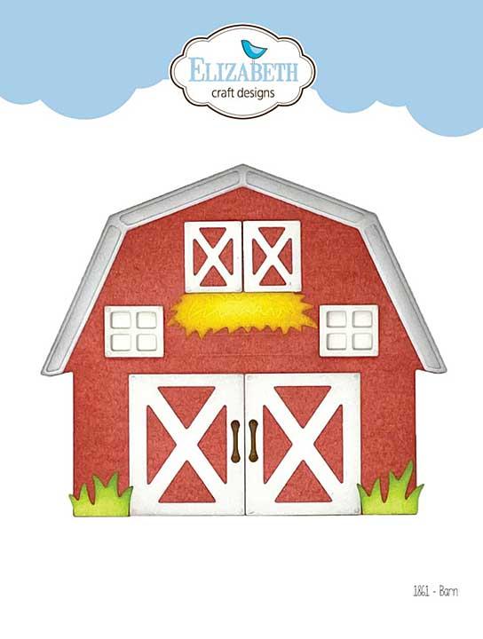 Elizabeth Craft Designs - Barn (on the Farm)