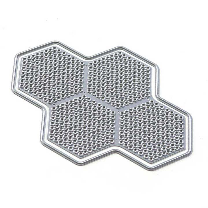 Elizabeth Craft Designs - Honeycomb Dots (Art Journal)