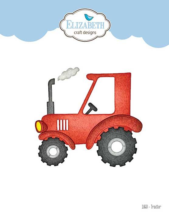 Elizabeth Craft Designs - Tractor (on the Farm)