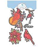 Elizabeth Craft Designs - Peace Die Set (Blooms 2)