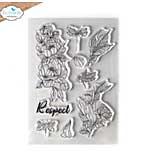 Elizabeth Craft Designs - Respect Clear Stamp Set (Blooms 2)