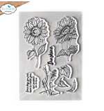 Elizabeth Craft Designs - Sunshine Clear Stamp Set (Blooms 2)