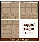 Biggest Board - Book-it (12x12 3 styles #923)