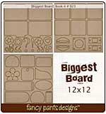 Biggest Board - Book-it (12x12 3 styles #923)