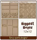 Biggest Board - Mix-n-Match (12x12 3 styles #922)