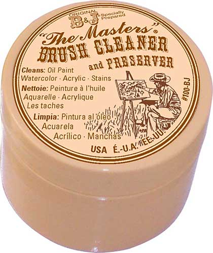 The Masters Brush Cleaner and Preserver - 1oz