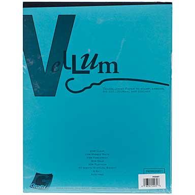 Grafix Vellum Assortment (8.5x11,40pk)