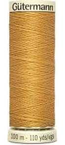 SO: Gutermann Sew All - Polyester Sewing Thread, Dark Gold(100m)