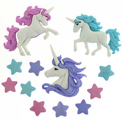 SO: Dress It Up Embellishments - Magical Unicorns
