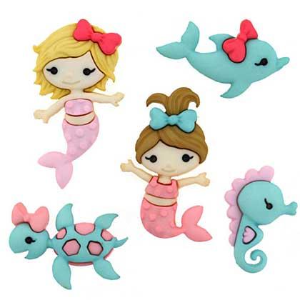 SO: Dress It Up Embellishments - Mermaid Kisses
