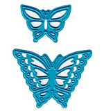 Joy! Crafts Cut and Emboss Dies - Butterflies, 1x.75 and 1.625x1.25