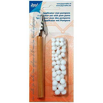 SO: Joy Crafts Applicator Tool with Pom Poms