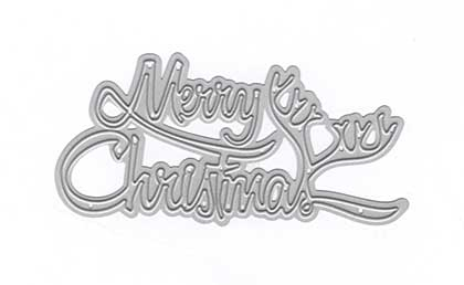 Joy Crafts Cutting Die - Merry Christmas