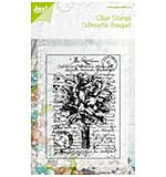Silhouette Bouquet Clear Stamp
