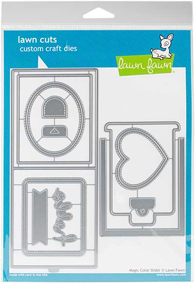 SO: Lawn Cuts Custom Craft Die - Magic Color Slider