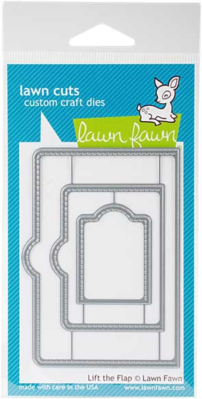 SO: Lawn Cuts Custom Craft Die - Lift The Flap
