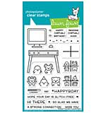 SO: Lawn Fawn Clear Stamps 4X6 - Virtual Friends