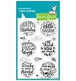 SO: Lawn Fawn Clear Stamps 4X6 - Magic Messages
