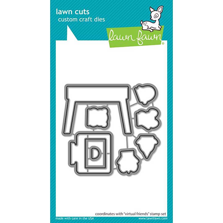 Lawn Cuts Custom Craft Die - Virtual Friends