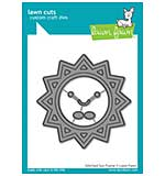 SO: Lawn Cuts Custom Craft Die - Stitched Sun Frame