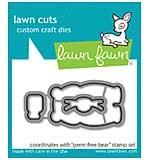 SO: Lawn Cuts Custom Craft Die - Germ-Free Bear
