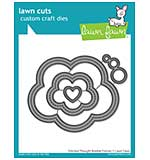 Lawn Cuts Custom Craft Die - Stitched Thought Bubble Frames