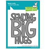 Lawn Cuts Custom Craft Die - Giant Sending Big Hugs