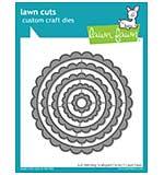 Lawn Cuts Custom Craft Die - Just Stitching Scalloped Circles