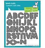 Lawn Cuts Custom Craft Die - Oliver's Stitched ABC's